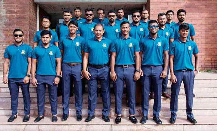 Bangladesh emerging team leave Dhaka for ODI series in India