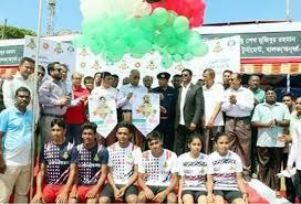 Bangabandhu, Bangamata football meet kicks-off in Khulna