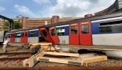 Train derails in Hong Kong during rush hour