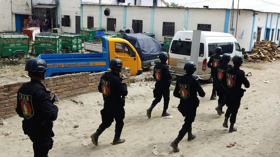 Probe report in Bosila militant den raid case on Oct 17