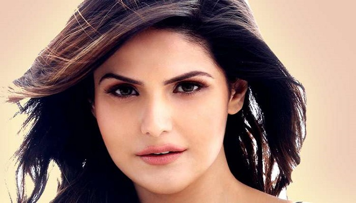 Zareen Khan asked to rehearse kissing scene with director