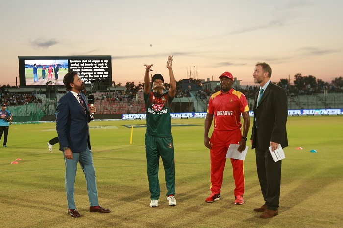 Zimbabwe opt to bowl against Bangladesh