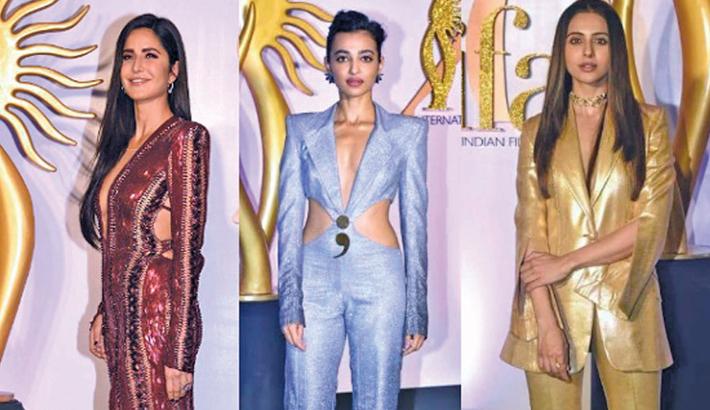 Katrina, Radhika, Rakul dazzle at IIFA Rocks
