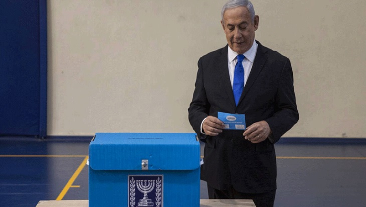 Facebook penalizes Netanyahu page over poll post