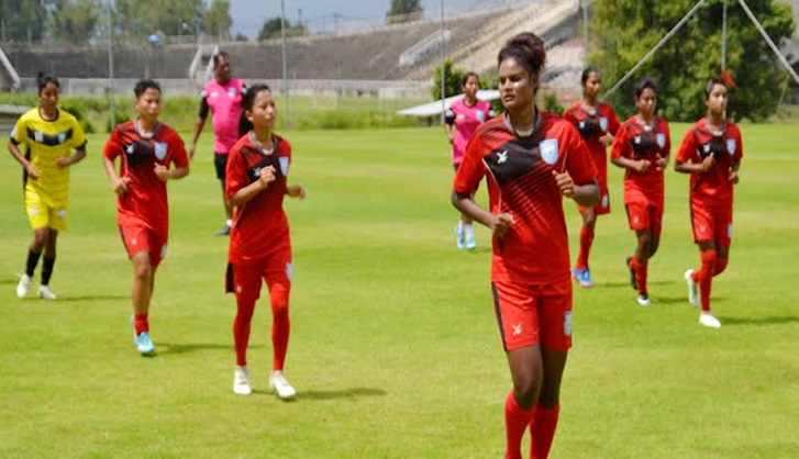 U-16 girls concede defeat by 9-0 goals against Japan
