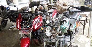 2 killed as motorcycles collide head-on in Madaripur