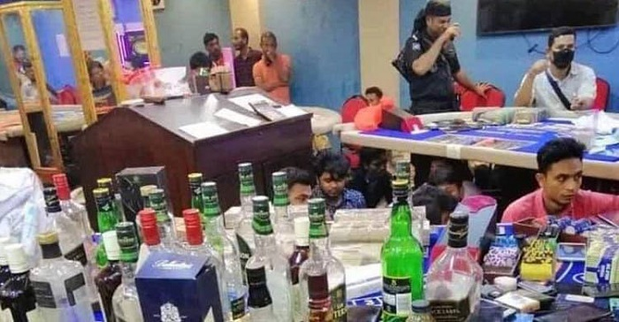 142 detained from 'casino' in Dhaka