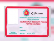 182 businessmen get CIP cards