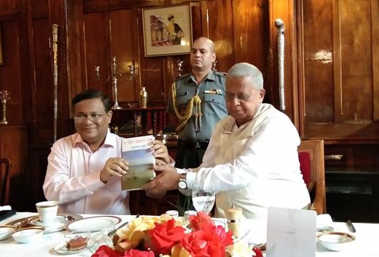 Hasan meets Meghalaya governor in Shillong