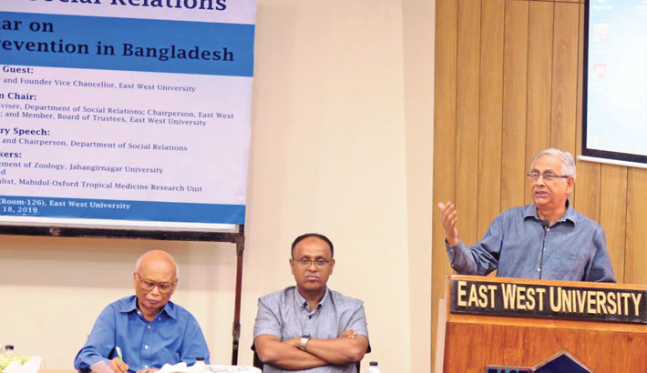 EWU holds seminar on prevention of dengue