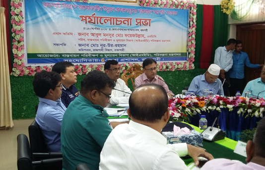 55 uplift projects being implemented in Rajshahi division