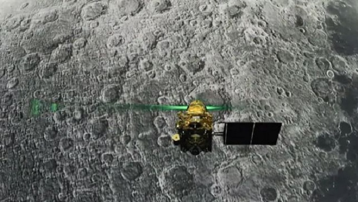 NASA reviews images of chandrayaan-2 landing site