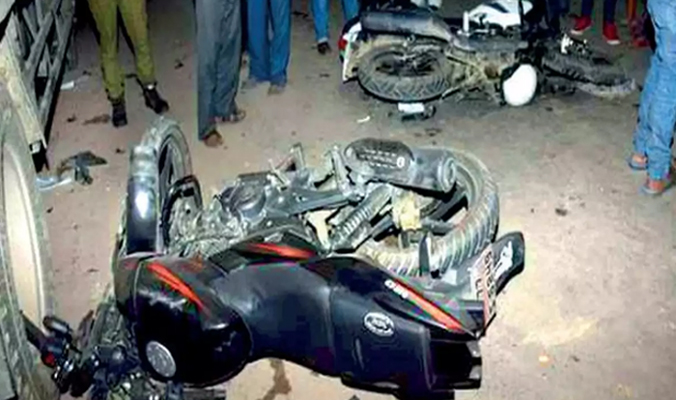 Two motorcyclists killed in Madaripur road accident
