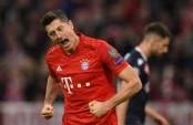 Lewandowski strikes again as Bayern see off Red Star