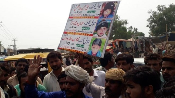 Protests in Pakistan's Kasur after boys' bodies found
