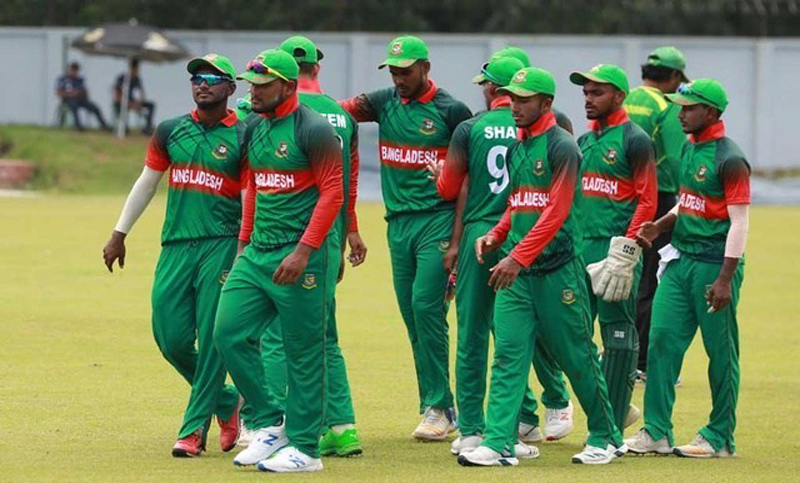 Bangladesh under-23 cricket team fail to chase 193 runs against India