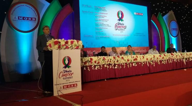 Working to improve cancer treatment in Bangladesh: MA Mannan