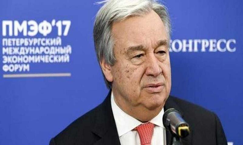 UN chief Antonio Guterres could discuss Kashmir issue at UNGA: Spokesman