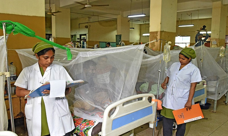 13 fresh cases of dengue in India's Lucknow, taking the toll to 125 in 2 months