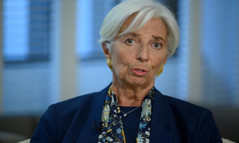 Lagarde urges policymakers to resolve manmade economic threats