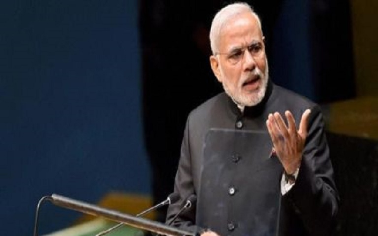 Indian PM Narendra Modi to receive Goalkeepers award in New York on September 25