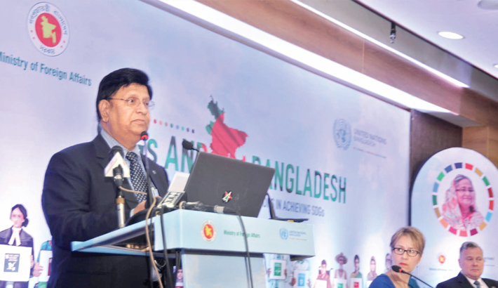 'SDGs and Bangladesh: Partnership with United Nations in Achieving SDGs'