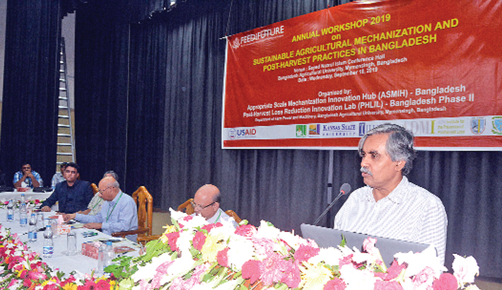 'Sustainable Agricultural Mechanisation and Post-Harvest Practices in Bangladesh'