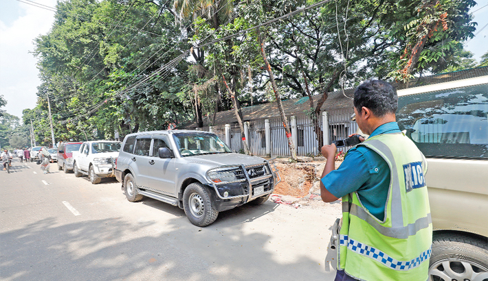 Police file cases against traffic rule violations
