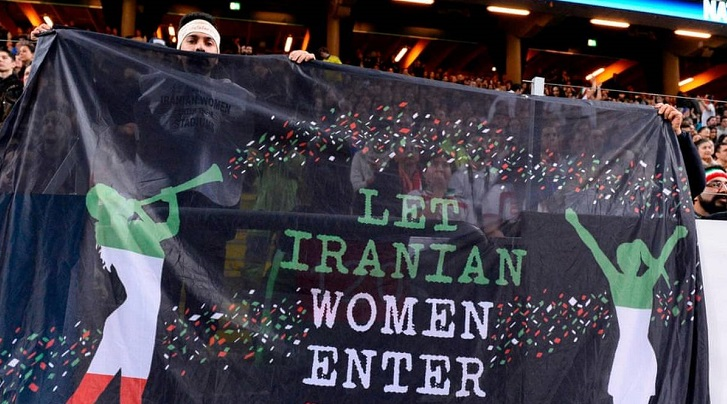 FIFA delegation in Iran amid women stadium ban row
