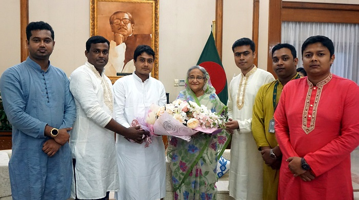 Sheikh Hasina pledges to harness social inconsistencies