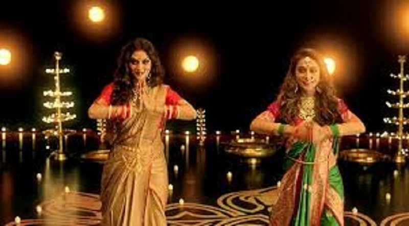 Lok Sabha MPs Nusrat Jahan and Mimi Chakraborty dance for Durga Puja theme song