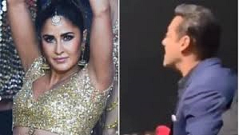Katrina Kaif becomes biggest cheerleader of Salman Khan at IIFA 2019
