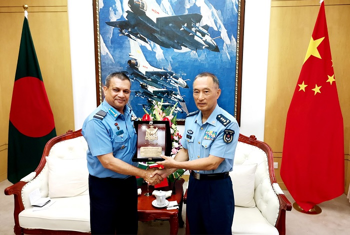 Air chief returns home from China