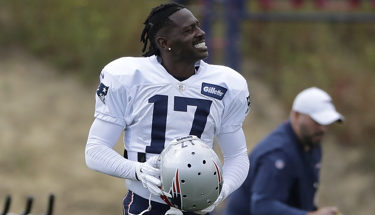 Antonio Brown cut by Patriots amid sexual misconduct claims