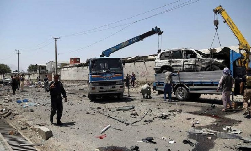 Roadside bomb kills 2 civilians in south Afghanistan
