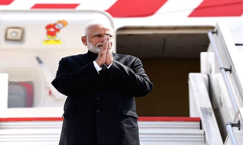 Indian PM Modi leaves on week-long US visit