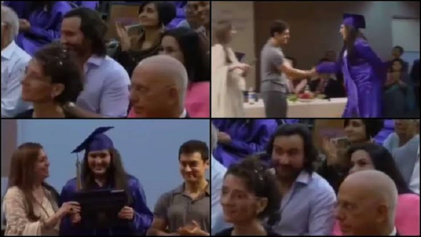 Saif, Amrita cheer for 'graduate' Sara in throwback video