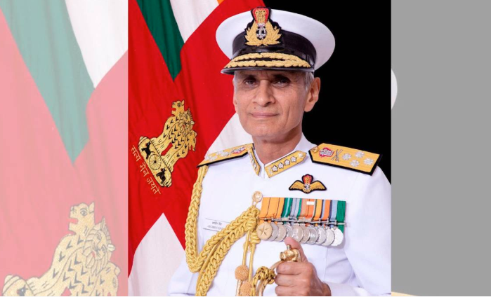 Indian Navy chief in city to elevate maritime ties with Bangladesh