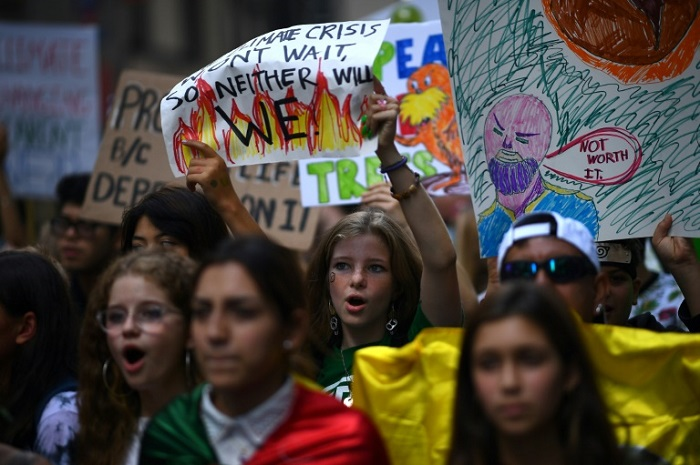 'Millions' protest in youth-led global climate strike