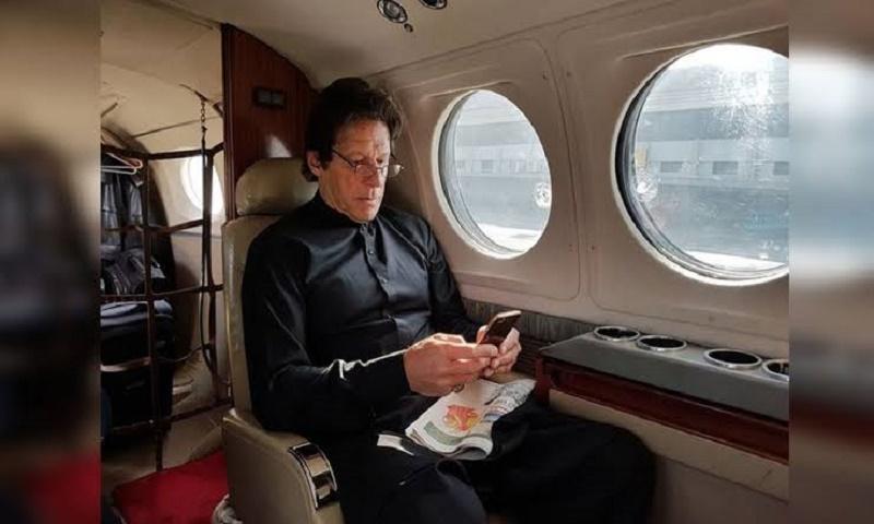 Imran flies to US in Saudi Crown Prince's