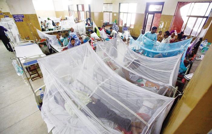2,099 dengue patients undergoing treatment in country