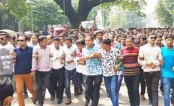 Tensed situation prevails on Dhaka University campus as JCD, BCL leaders take position