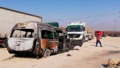 IS claims Iraq minibus bombing that killed 12