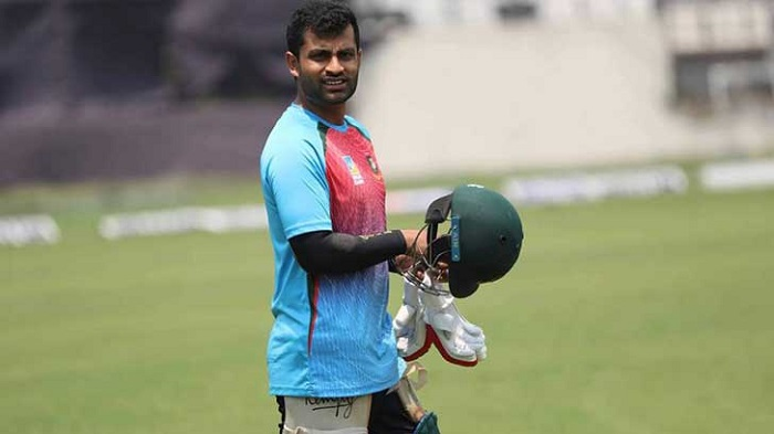 Tamim back in nets, prepares himself for India tour
