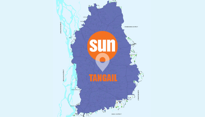 2 killed as bus collided with auto-bike in Tangail