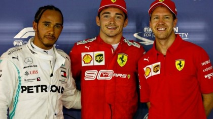 Leclerc takes Singapore pole stunning Hamilton