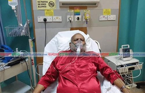 Joynal Hazari hospitalised