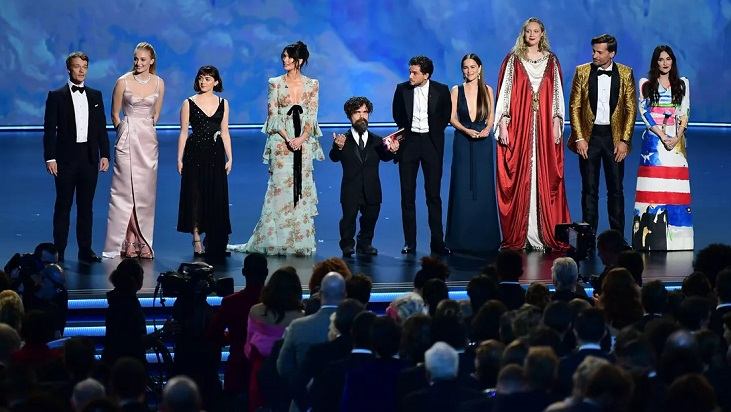 'Game Of Thrones' wins best drama series Emmy