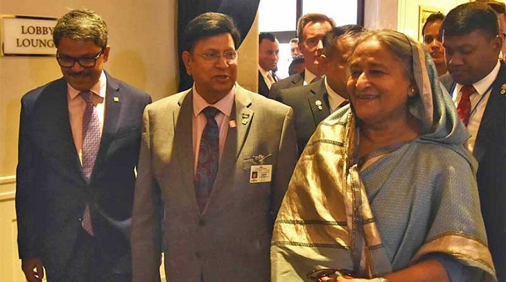 Prime Minister Sheikh Hasina reaches New York to join UNGA