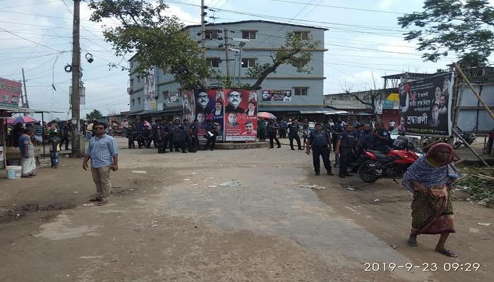 Police, DB men cordon off 'militant den' in Narayanganj